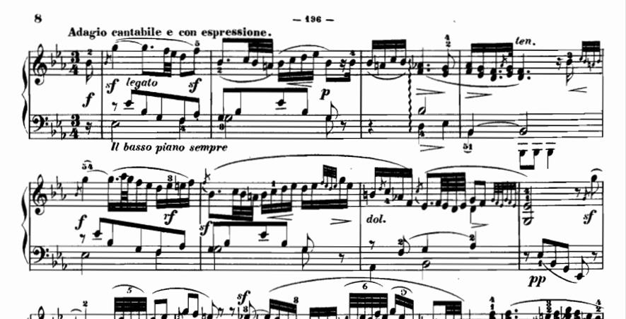 Clementi - Adagio cantabile della Sonata Op.9 n.1