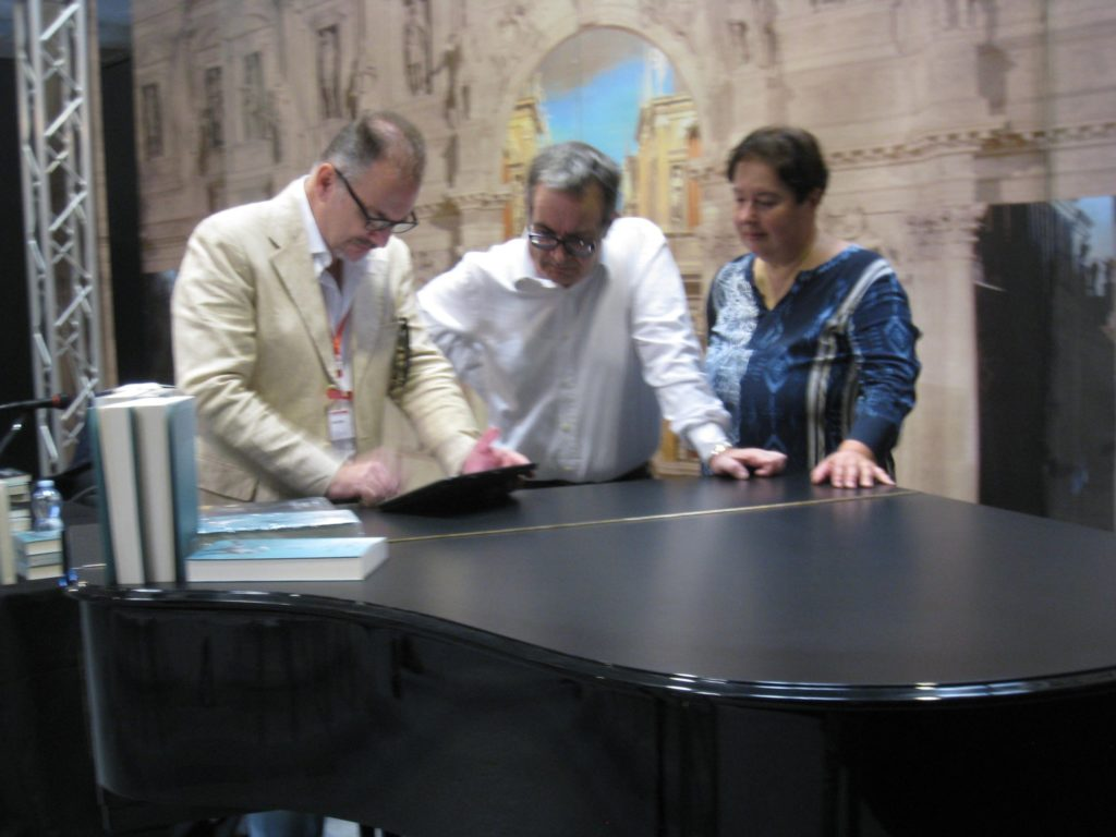 Anna, Luca, Catemario a Cremona Musica 2018. Nella pagina trovi gli indirizzi per contattarli.