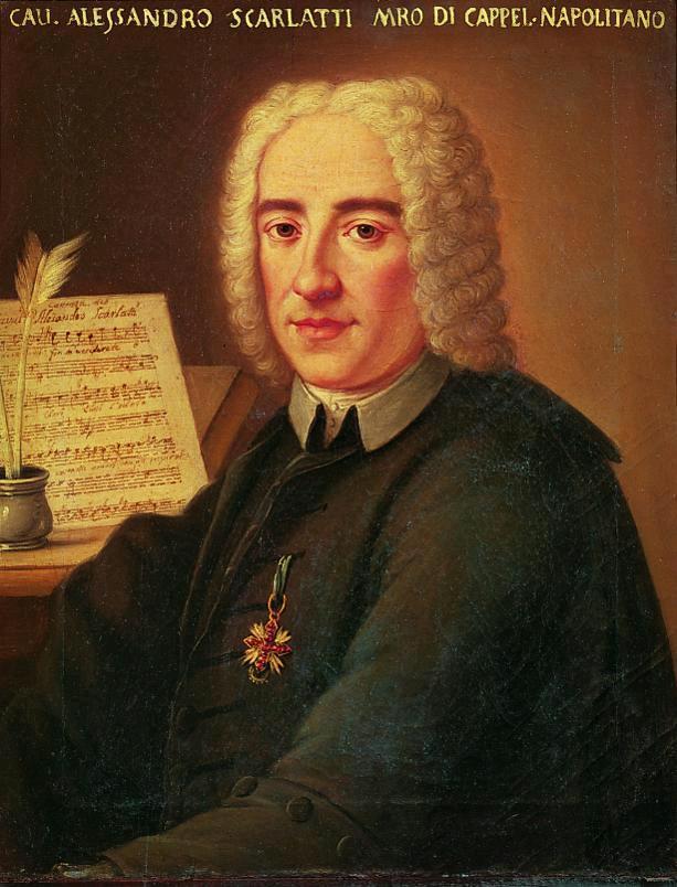 ritratto anonimo di Alessandro Scarlatti