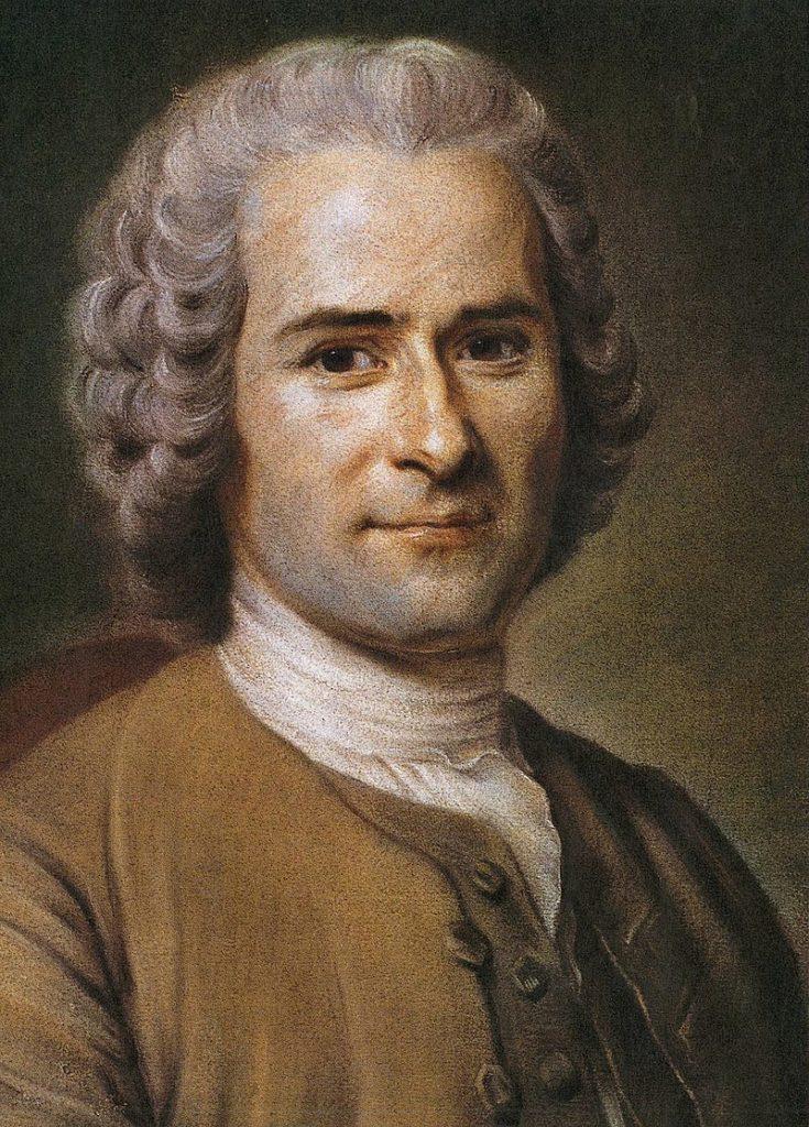 Jean-Jacques Rousseau_ quadro di Maurice Quentin de La Tour